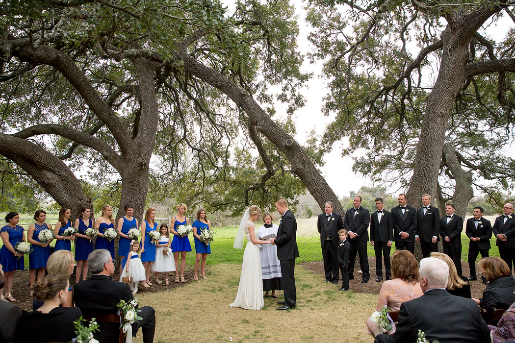 Love Oaks Wedding Ceremony