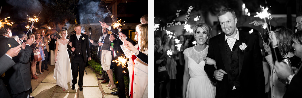 Austin Wedding Photographers Sparklers